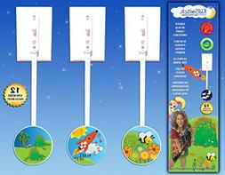 Lightswitch Extension for Toddlers Teaches Includes 12 Theme