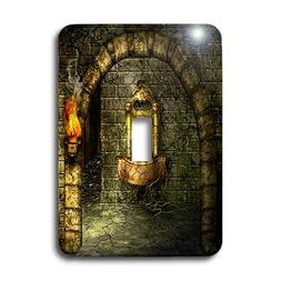 3dRose LLC lsp_11908_1 A Medieval Room Features an Enchanted