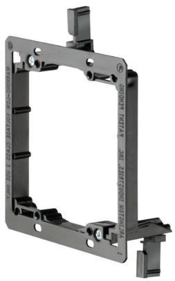 Arlington LV2-1CS Low Voltage Mounting Bracket, 2-Gang, 1-Pa