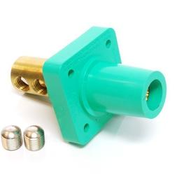 Marinco  CL Series Panel Mounts  2/0 - 4/0 AWG Female - Gree