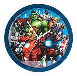 Marvel Avengers 10 Inch Analogue Wall Clock, Mar18