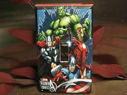 Marvel Avengers Light Switch Wall Plate Cover #3 - Outlet Do