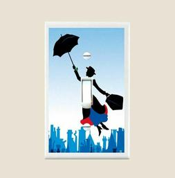 Mary Poppins Light Switch Plate Cover Bedroom Nursery Home D