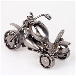 Metal Crafts Decoration Iron Tricycle Motorcycle Model Creat