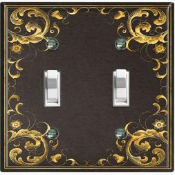 Metal Light Switch Cover Wall Plate Elegant French Victorian