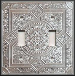 Metal Light Switch Plate Cover Design Of Stamped Metal Coppe
