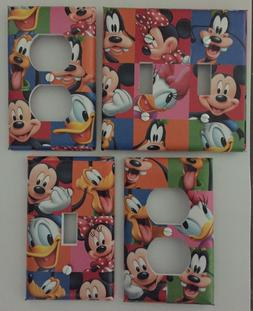 MICKEY MOUSE LIGHT SWITCH COVER PLATES DISNEY CHARACTERS CHI