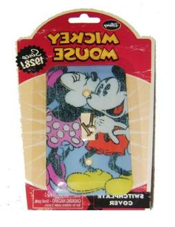 Mickey Mouse and Minnie Mouse Light Switch Plate Cover