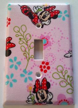 Minnie Mouse Light Switch Cover Bathroom Bedroom Kitchen Wal