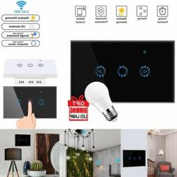 Modern WiFi Dimmer Smart Switch Touch APP Control LED Light