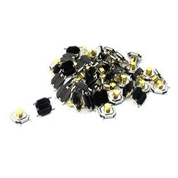 50Pcs 5x5x3mm 4Pin Momentary Push Button PCB SMD SMT Tact Sw