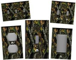 MOSSY OAK CAMOUFLAGE HOME DECOR LIGHT SWITCH PLATES AND OUTL