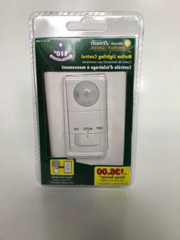 110° Motion Activated White Wall Switch