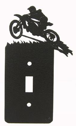 MOTOCROSS Single Light Switch Plate Cover