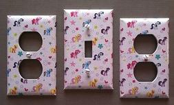 MY LITTLE PONY LIGHT SWITCH COVER PLATES NURSERY GIRLS DECOR