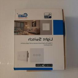 NEO COOLCAM Smart Light Switch 2CH Touch Sensitive Wall Swit