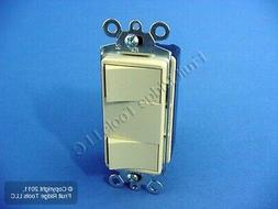 New Cooper Ivory DOUBLE Rocker Wall Light Switch Decorator S