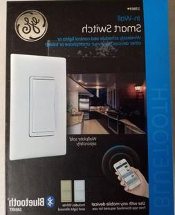 NEW IN-WALL SMART SWITCH 13869 GE Jasco BLUTOOTH SMART WHITE