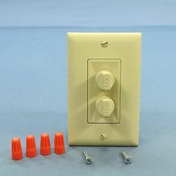 New Pass & Seymour Ivory Ceiling Fan Speed Control & Dimmer