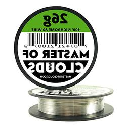 Nichrome 80 - 100 ft 26 Gauge AWG Resistance Wire 0.40mm 26g