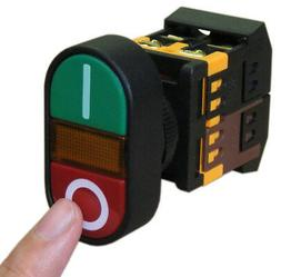 ON/OFF START/STOP Push Button w Light Indicator Momentary Sw