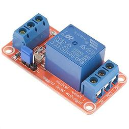 GEREE 1 Channel Optocoupler High/Low Level Relay Module 5V D