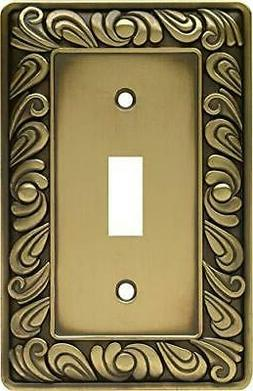 Brainerd Paisley Single-Switch Wall Plate, Available in Mult