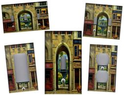 PARIS FRENCH SHOPS HOME WALL DECOR LIGHT SWITCH PLATES AND O
