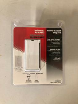 Pass & Seymour Dimmer Incandescent 600W White D600MWV