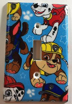 Paw Patrol Single Light Switch Plate Cover Bedroom Bathroom