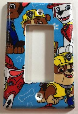 Paw Patrol Single Rocker Light Switch GFI Cover Wall Decor