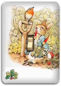 Peter Rabbit Metal Light Switch Plate Cover Benjamin Nursery