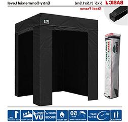 Eurmax 5x5 PhotoBoth Commercial Easy Pop up Canopy Party Ten