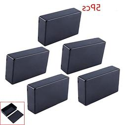 Yosoo 5 Pcs 100x60x25mm Plastic Cover Project Electronic Enc