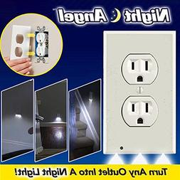 Gladle Plug Cover Outlet Coverplate with LED Night Lights Ha