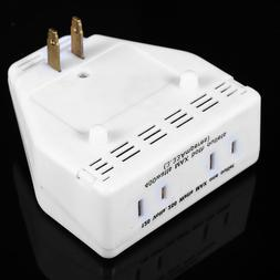 Plug-In Indoor Motion Sensor Detector Noise Activated Auto O