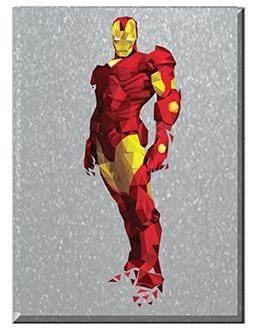 Edge Home Products Polygon Art Comics: Large Marvel Iron Man