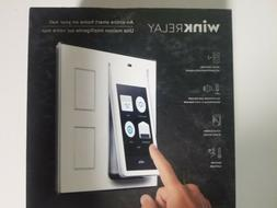 Wink PRLAY-WH01 Relay Wall-Mounted Smart Home Controller, Wh