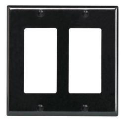 Leviton R04-80409-00E Double Gang Wall Plate