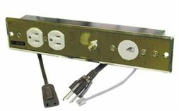 Recess Mounted Harness W/Push Switch, PartNo 5000-0511, by S