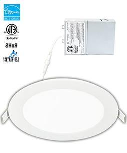 LED Fantasy 6-inch 15W 120V Recessed Ultra Thin Ceiling LED