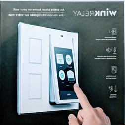 Wink Relay Wall-Mounted Smart Home Controller, White New In