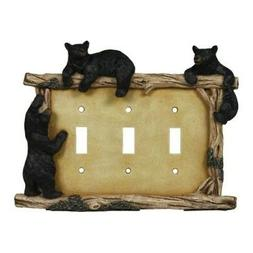 Rep Bear Triple Switch Plate Cover