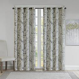 Grey Curtains For Living room , Casual Fabric Window Curtain