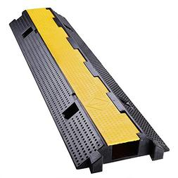 Yescom Medium Rubber Electrical Wire Cover Ramp Guard Wareho