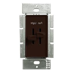 Lutron S2-LFSQ-BR Standard Switches