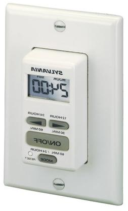 Sylvania SA160 20 Amp Dual Mode 24-Hour/60 Minute Digital Au
