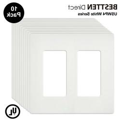 BESTTEN Screwless Wall Plates, USWP4 Series, Standard Size