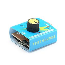 Pukido Servo Tester Third Gear Switch with Indicator Light 4