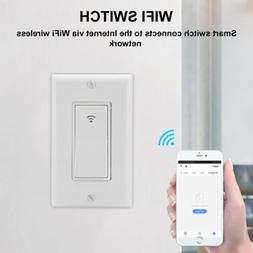 Smart LED WIFI 2.4G Light Switch IFTTT Voice Control For Ama